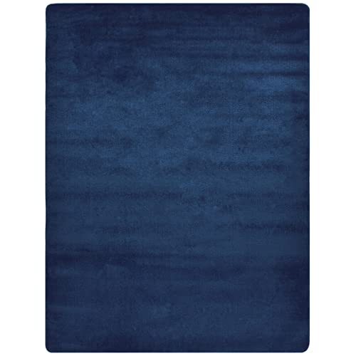 61ba03abb9 Euro Collection Solid Color Area Rug Rugs Slip Skid Resistant Rubber  Backing Machine Washable More Color