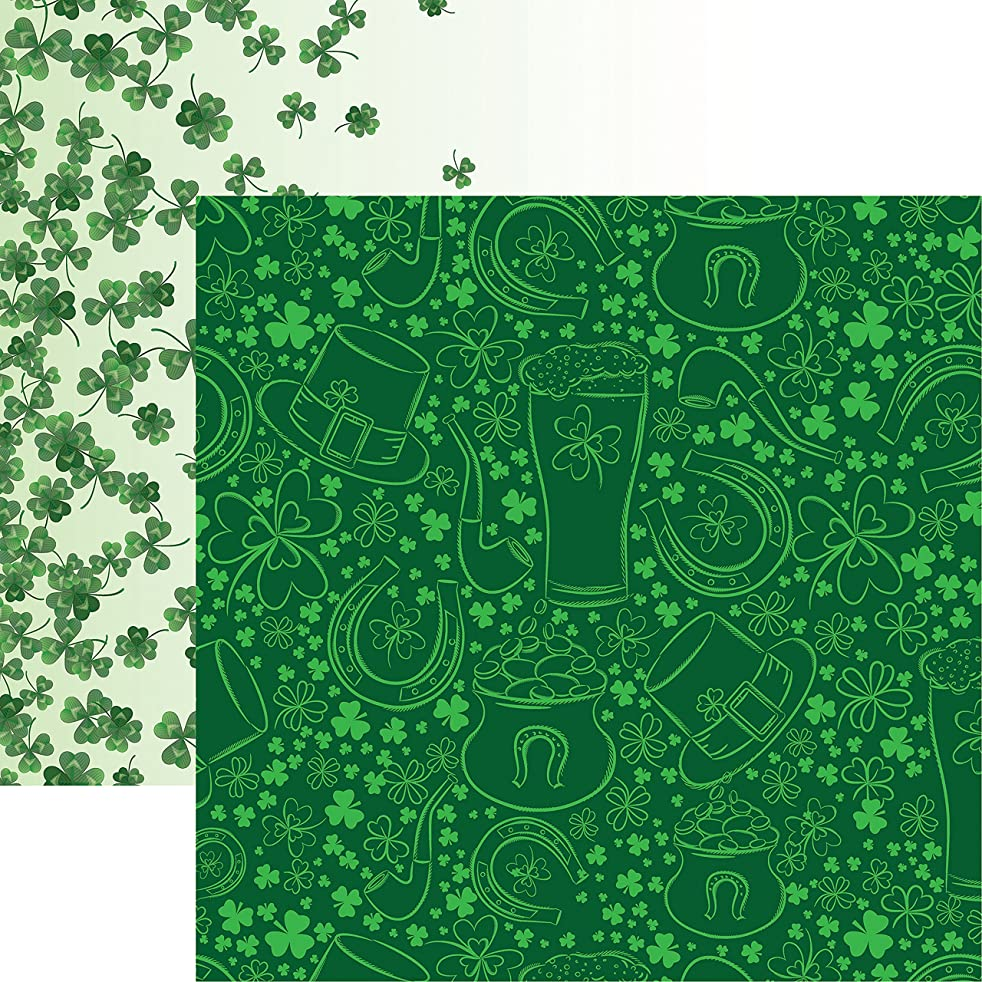 Reminisce Luck of The Irish Double-Sided Cardstock 12