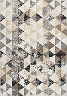 Rizzy Home Xcite Collection Polypropylene Area Rug, 5'2