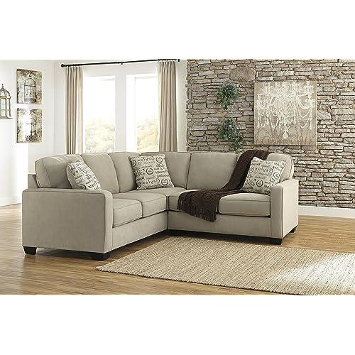 Sensational Tan Sectional Amazon Com Beatyapartments Chair Design Images Beatyapartmentscom
