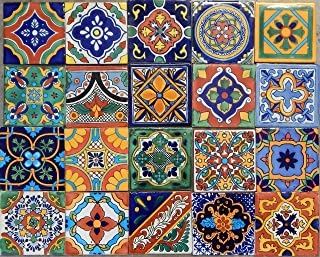 Color y Tradicion 100 Mexican Tile Mix 4x4