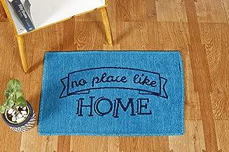 """HANDICRAFT-PALACE Room Doormat Indoor Rug Carpet Bathroom Bedroom Mats 24"""" X 16"""" Inches (Blue Turquoise Home)"""