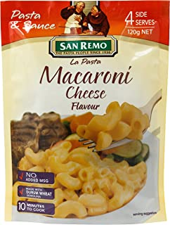 San Remo Macaroni and Cheese, 120g,SR6003 (packaging may vary)