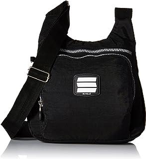 Suvelle Lightweight Small City Travel Everyday Crossbody Bag Multi Pocket Shoulder Handbag 9288