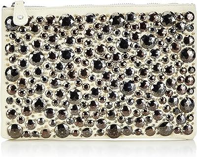 PIECES SILVIA CLUTCH 17053755 Damen Clutches 26x17x2 cm (B x H x T)