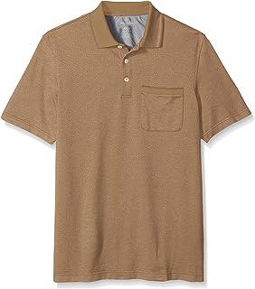 Van Heusen Men's Big and Tall Flex Short Sleeve Stretch Solid Polo Shirt