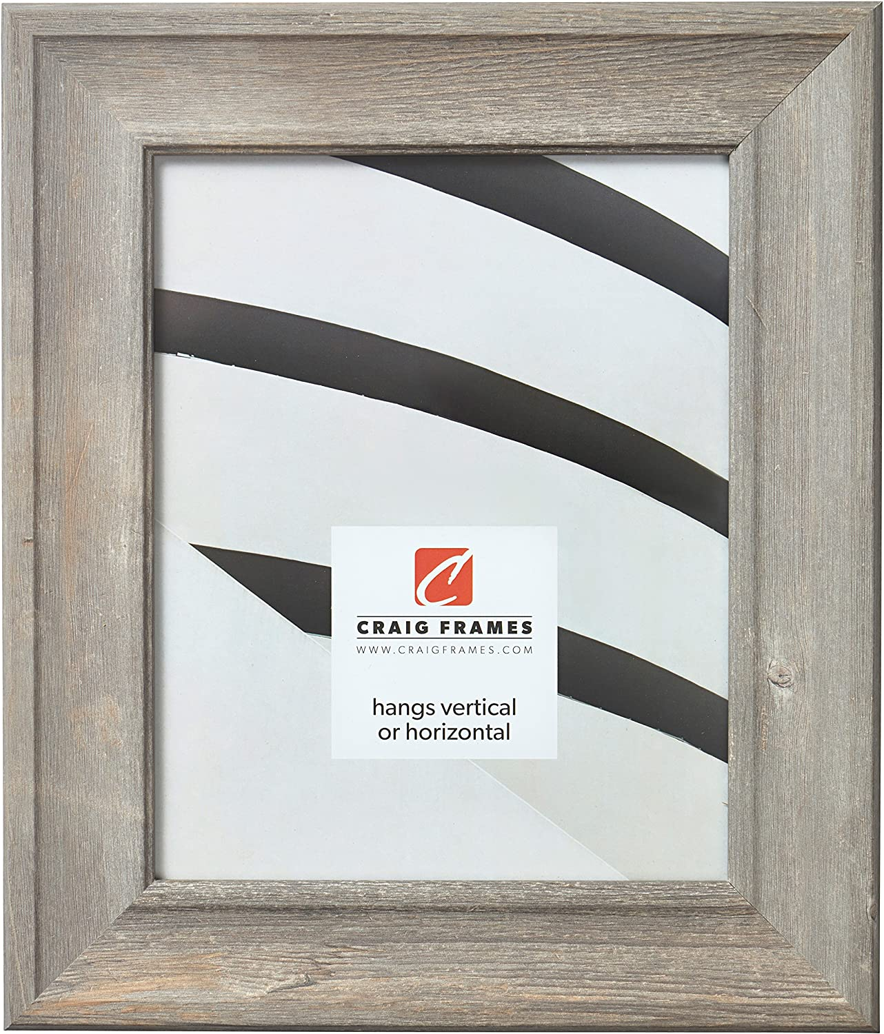 Craig Frames Scalloped American Barn Faux Picture security Fram Barnwood 5% OFF