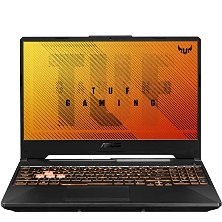 "ASUS TUF Gaming A15 Gaming Laptop, 15.6"" 144Hz Full HD IPS-Type Display, AMD Ryzen 5 4600H, GeForce GTX 1650 Ti, 8GB DDR4, 512GB PCIe SSD, RGB Keyboard, Windows 10 Home, Bonfire Black, FA506II-AS53"