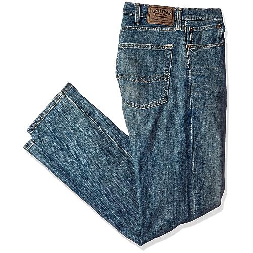 e97c7fa0055 Signature by Levi Strauss & Co. Gold Label Men's Slim Straight Jeans