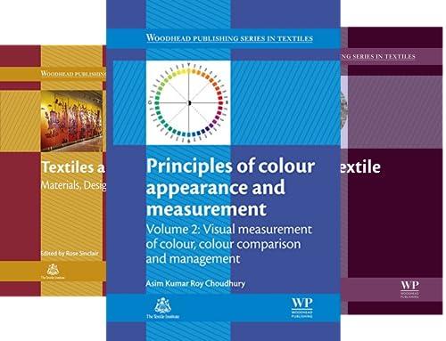 Woodhead Publishing Series in Textiles (51-82) (32 Book Series)
