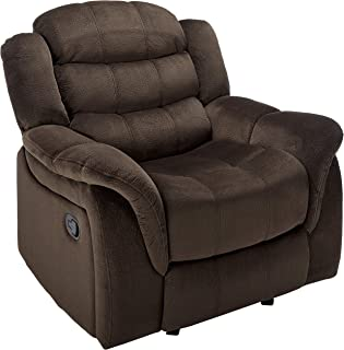 Christopher Knight Home Blake Fabric Glider Recliner Chair, Brown