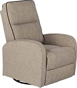 THOMAS PAYNE Swivel Pushback Recliner for 5th Wheel RVs, Travel Trailers and Motorhomes, Norlina