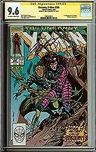 Uncanny X-Men #266 1st Appearance Gambit CGC (1592343011) 9.6 Signed Chris Claremont + FREE SIGNED X-MEN BOOK
