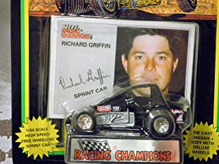 WORLD OF OUTLAWS Sprint Car Richard Griffin Series One 1:64 Scale die-cast Racer Racing Champions