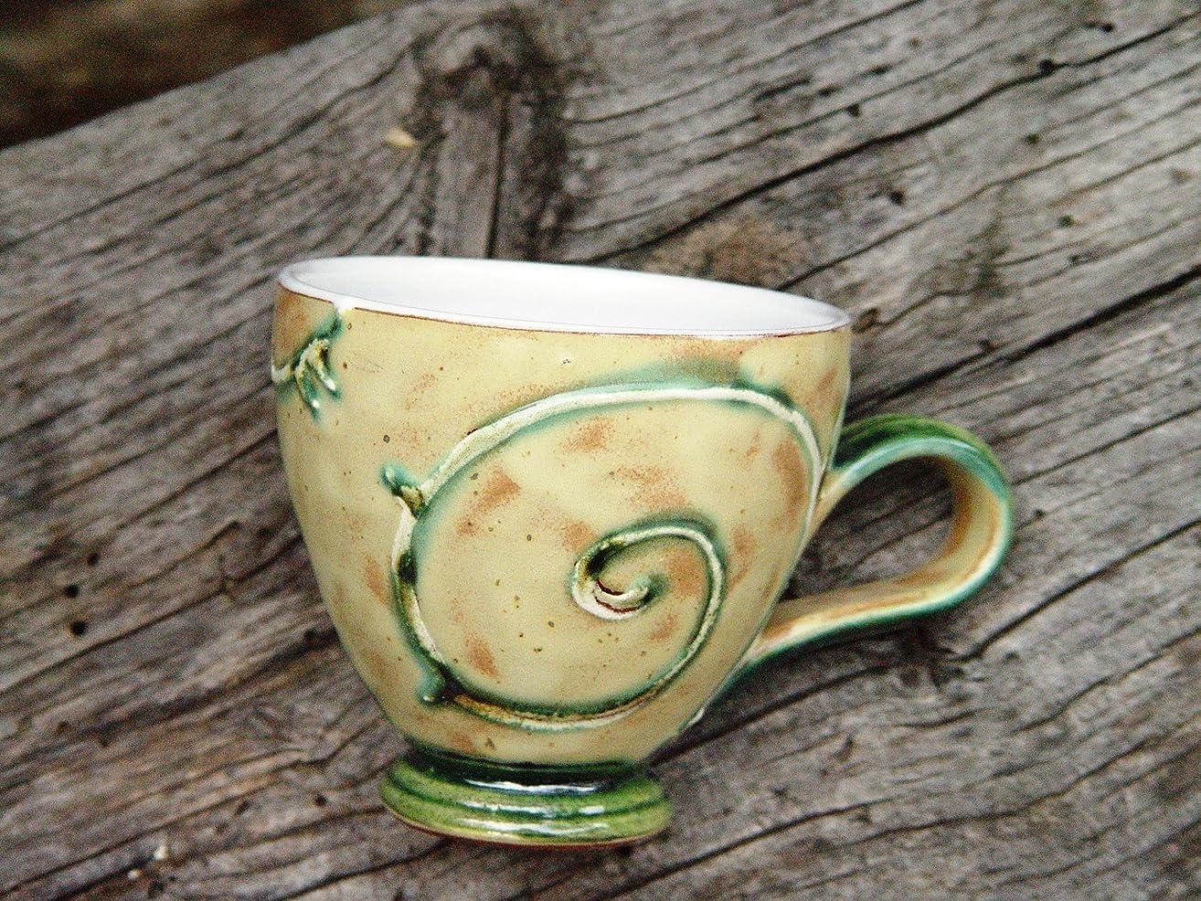 Handmade Pottery Coffee or Tea Mug, Wheel Thrown Ceramics, Danko Pottery