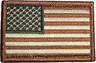 Tactical USA Flag Patch - Coyote Desert Tan 2
