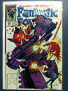 Fantastic Four #344 Nukebusters II Sep 90 Near-Mint (7 out of 10) Very Lightly Used by Mickeys Pubs