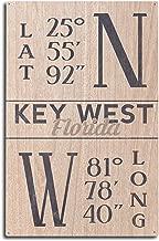 latitude and longitude of key west florida