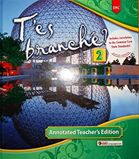 T'es branché? 2 Annotated Teacher's Edition Hardcover – 2014