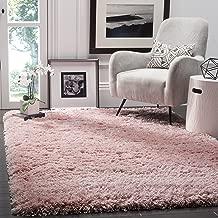 Safavieh Polar Shag Collection PSG800P Light Pink Area Rug, 5'1
