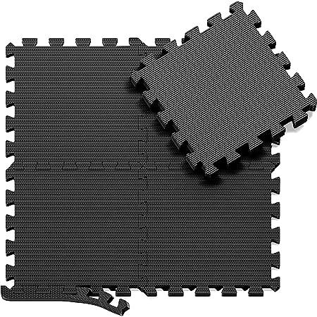 6//24PCS Bodenschutzmatten Unterlegmatten Bodenschutz Schutzmatten Puzzlematte DE