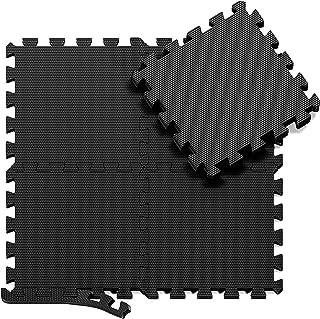 comprar comparacion Esterilla Puzzle para Suelos de Gimnasio y Fitness | Set de Protección de Goma Espuma, Alfombrilla Protectora Expandible d...