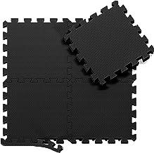 Beschermende Vloermatten Zachte Foam Tegels in Elkaar Grijpende Schuimmatten - 18 Stuks EVA Schuim Puzzelmatten | Vloermat...