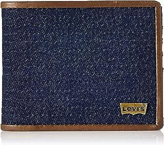Levi's Leather Blue Men's Wallet (37541-0069)