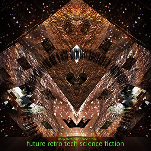 Future Retro Tech Science Fiction - Deep Electronic Space