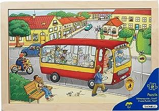 Beleduc Big Frame Town Jigsaw Puzzle (24 Piece)
