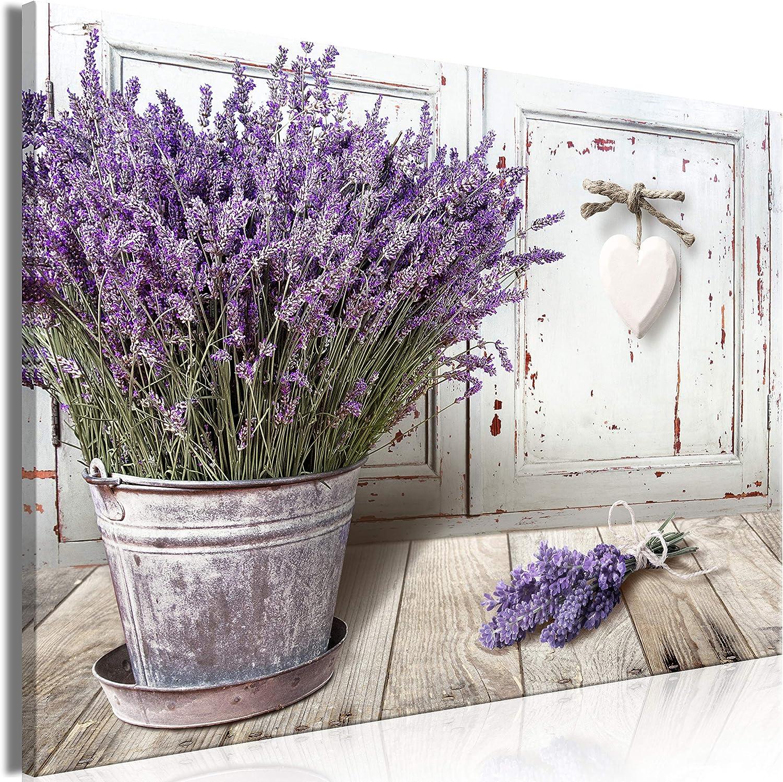 artgeist Canvas Wall Art Print Our shop most popular Ranking TOP6 Lavender 1 90x60 cm 35