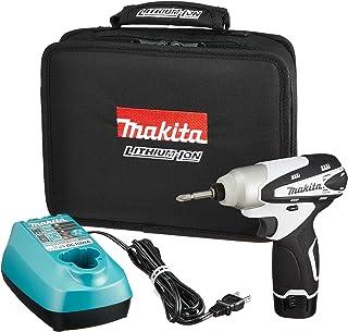 マキタ(Makita)  充電式インパクトドライバ 10.8V 白 本体付属バッテリー1個搭載モデル TD090DWSPW