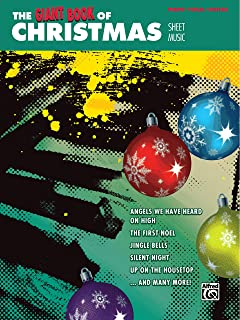 The Giant Book of Christmas Sheet Music: Piano/Vocal/Guitar (The Giant Book of Sheet Music)