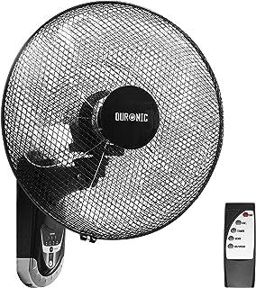 Duronic FN55 (Reacondicionado) Ventilador de Pared 5 Aspas - Hélice de 40 cm - 60W de Potencia - Oscilante - 3 Velocidades - Mando a Distancia - Temporizador