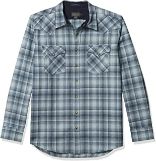 Pendleton Men's Size Long Sleeve Button Front Tall Canyon Shirt