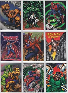 Flair '94 Presents the Marvel Universe Complete 150 Base Card Set Inaugural Edition