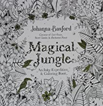 Magical Jungle: An Inky Expedition And Coloring Book For Adults (Turtleback School & Library Binding Edition) PDF