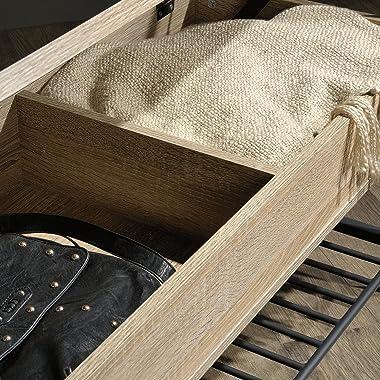 Sauder North Avenue Storage Bench, Charter Oak finish