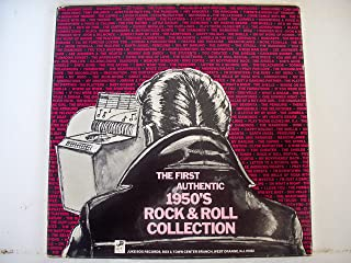 The First Authentic 1950's Rock & Roll Collection 4 Record Box Set