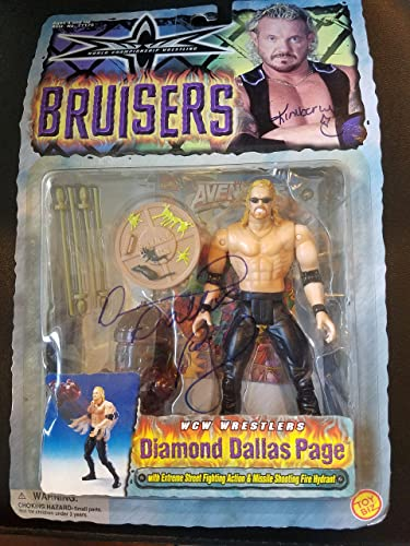 World Championship Wrestling Bruisers WCW Wrestlers Diamond Dallas Page by Toy Biz