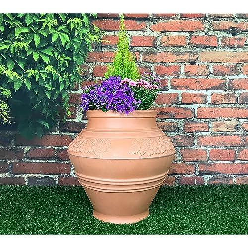 Large Terracotta Plant Pots: Amazon co uk