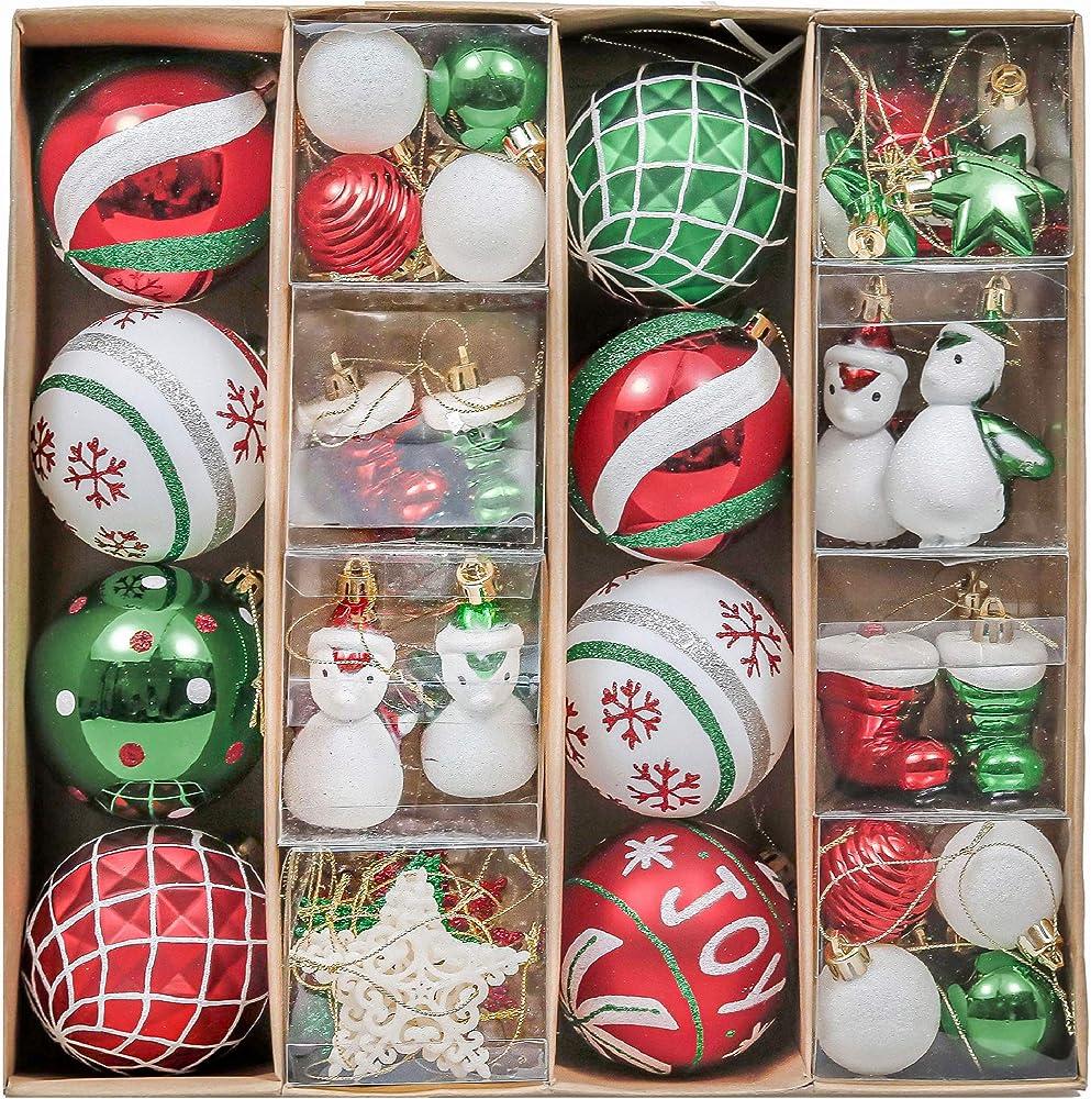 Valery madelyn palle di natale 60 pezzi set di decorazioni EG0101-0277