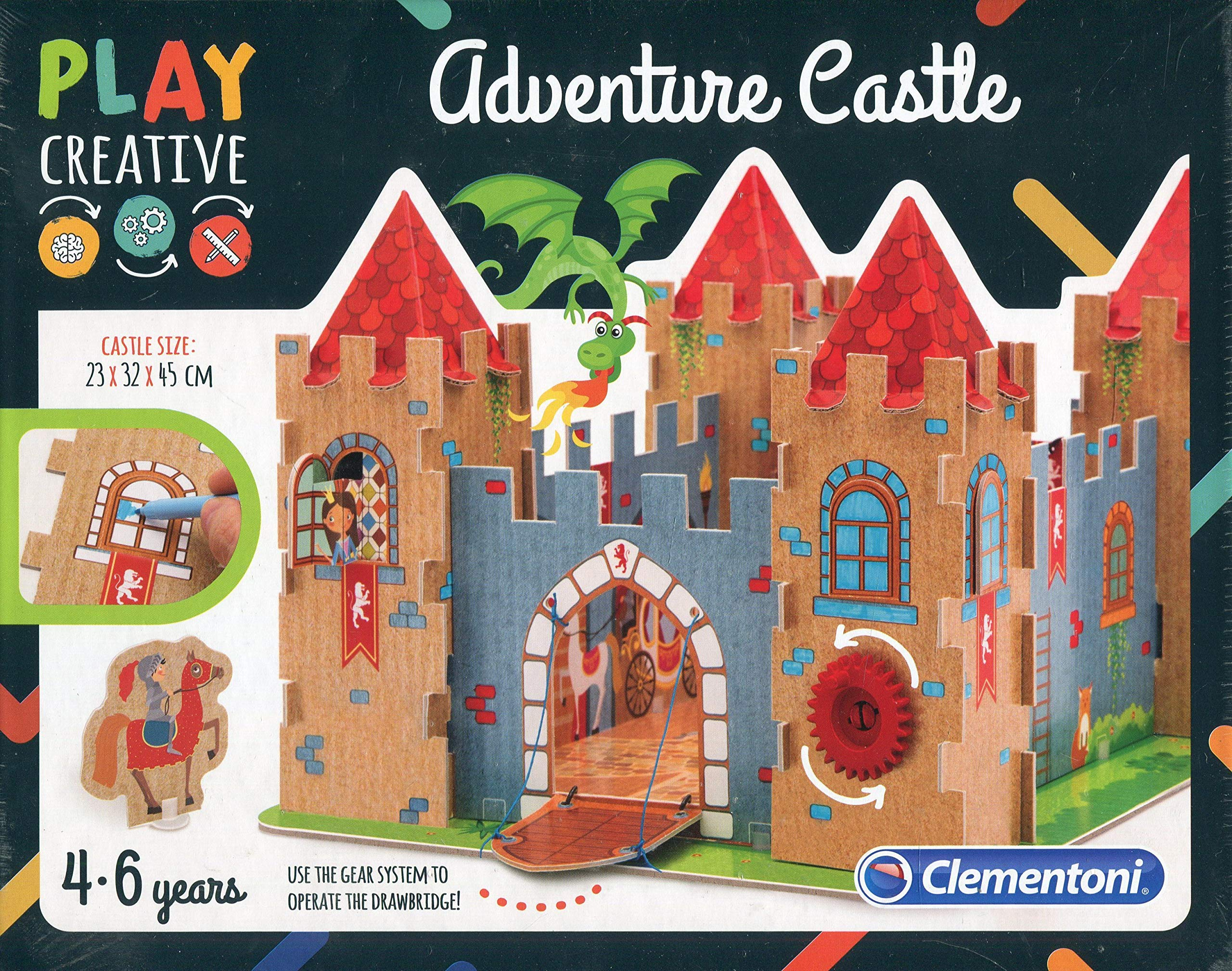 Clementoni - Aventuras en el castillo (15286): Amazon.es: Juguetes ...
