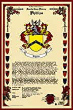 Phillips Coat of Arms/Crest and Family Name History, meaning & origin plus Genealogy/Family Tree Research aid to help find clues to ancestry, roots, namesakes and ancestors plus many other surnames at the Historical Research Center Store