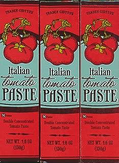 Trader Joe's Italian Tomato Paste (Pack of 3 - 4.6 oz )