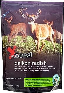 X-Seed 20213 Daikon Radish Food Plot with Micro-Boost