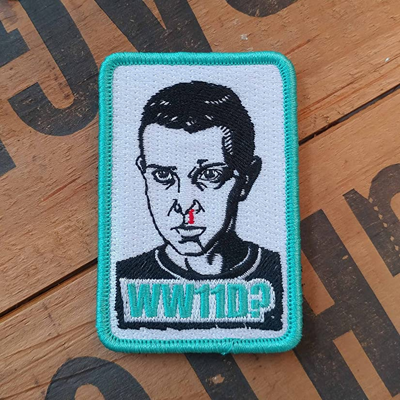 NEO Tactical Gear Stranger Things WW11D? Morale Patch - Available in PVC, Embroidered with Hook Backing or Iron On