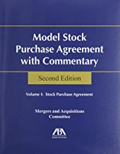 Model Stock Purchase Agreement With Commentary :2 Volume set