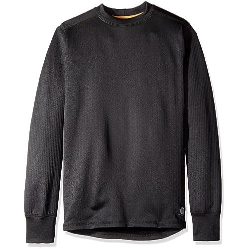 c5b9addb5e0 Carhartt Men s Base Force Extremes Super Cold Weather Crew Neck Sweatshirt
