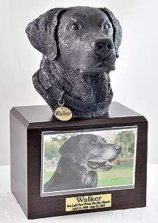 TimberlandUrns Black Lab Dog Urn